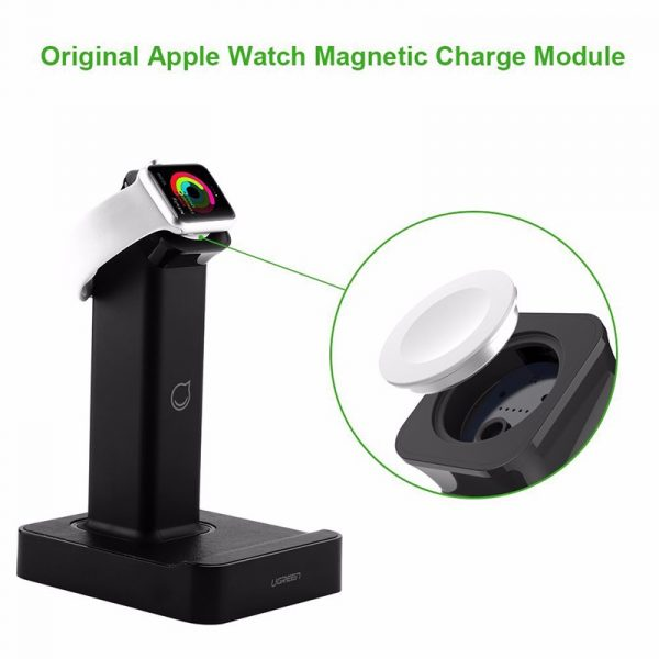 Magnetic Charging Dock Black for Apple Watch