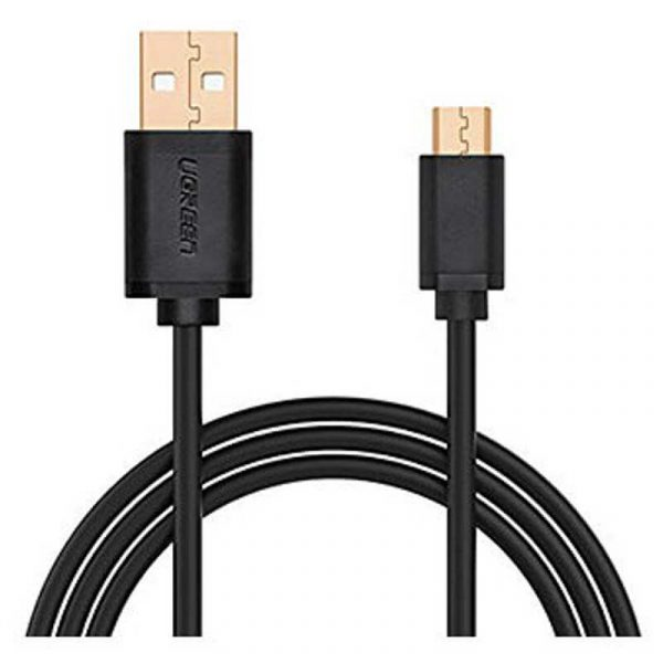 Micro-USB male to USB male cable