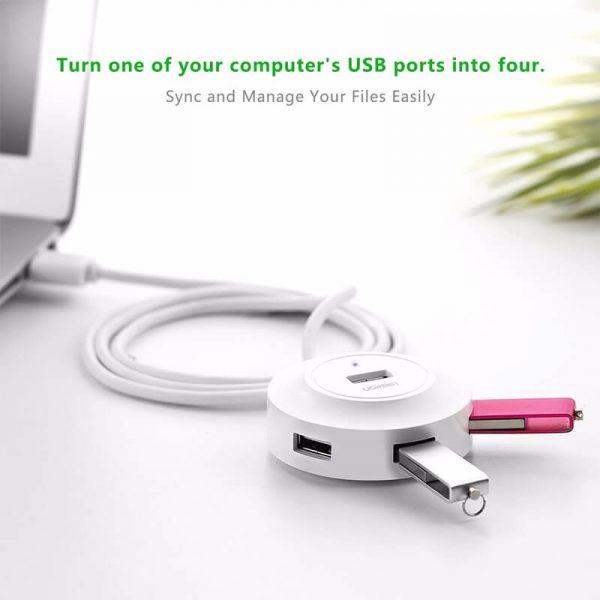 UGREEN USB 2.0 4 PORT HUB