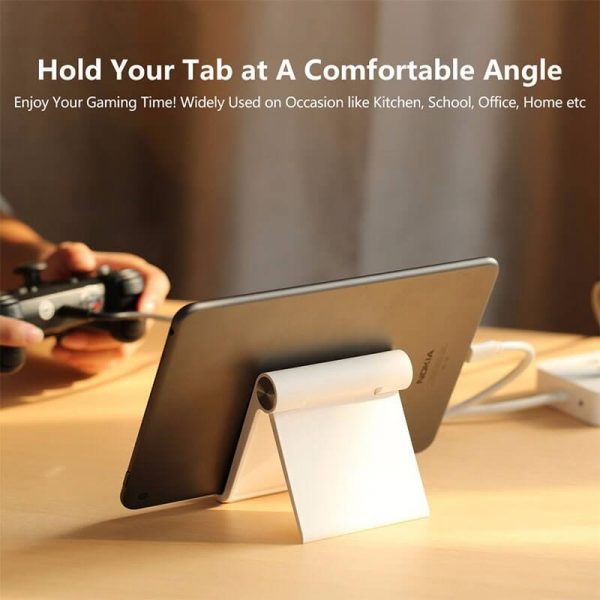 Adjustable Portable Stand Multi-Angle   White