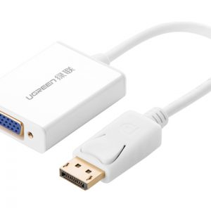 DisplayPort to VGA+Audio converter cable