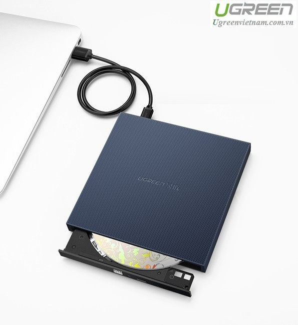 USB 2.0 Slim Portable DVD Writer