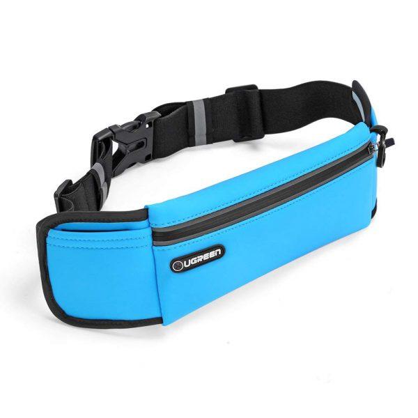 Sport Running Waist Pack Waterproof Belt Black