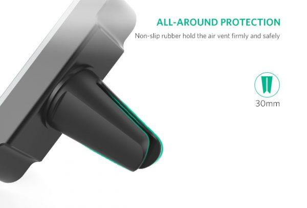 Air Vent Mount Phone Holder grey