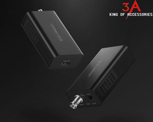 SDI to HDMI audio&veido converter Black