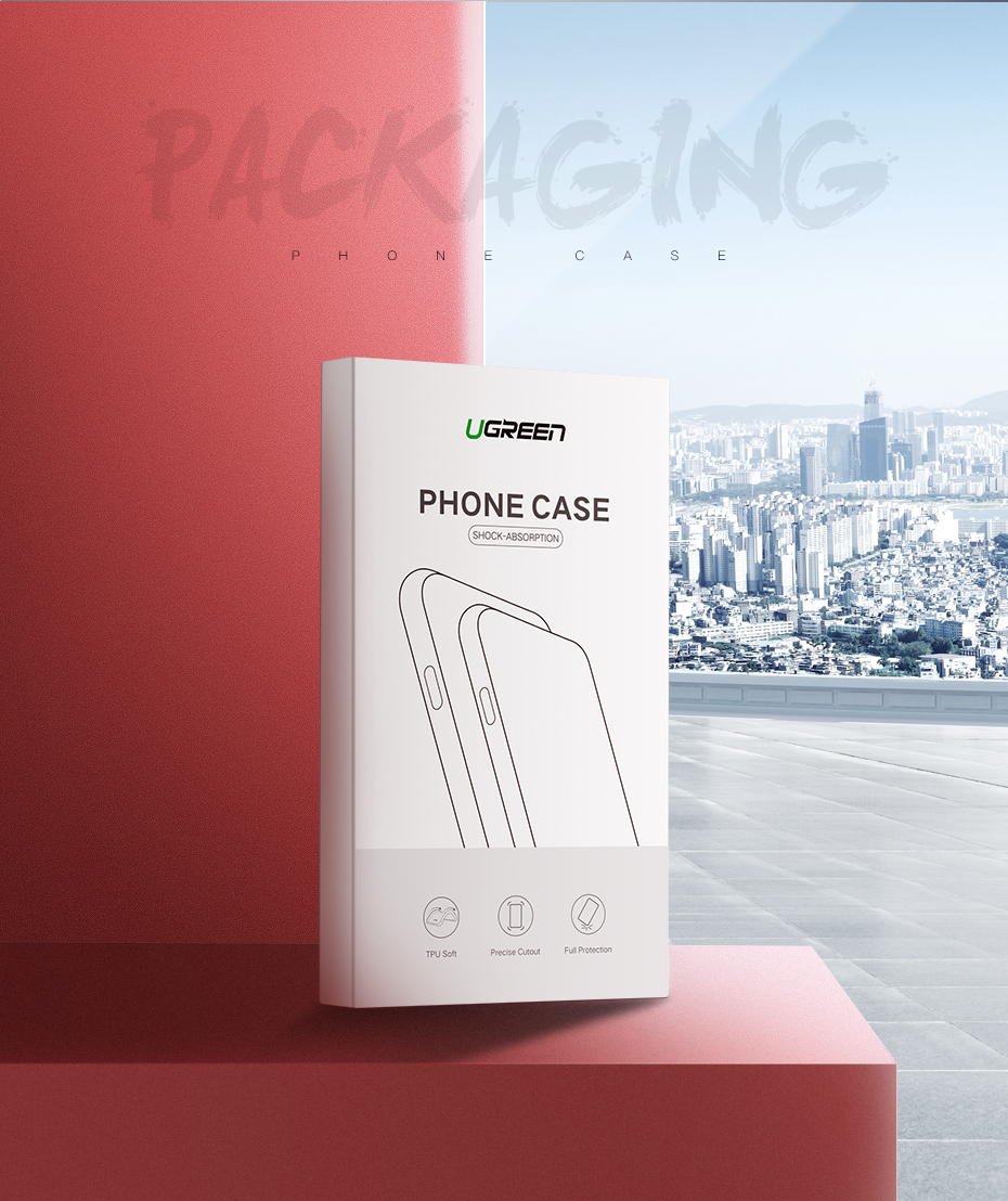 UGREEN iPhone Tempered Glass Protector - iPhone x
