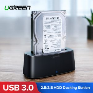 UGREEN USB 3 hard disk docking black