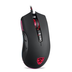 Motospeed V70 3320 Black Wired Gaming Mouse