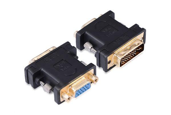 UGREEN 20122 DVI (24+5) male to VGA female converter