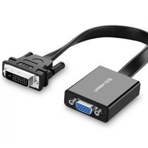 DVI-D to VGA Active Converter Black