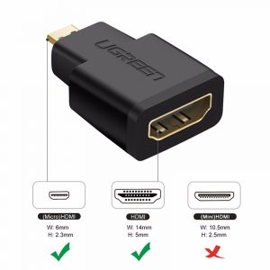 UGREEN Micro HDMI male to HDMI female Adapter