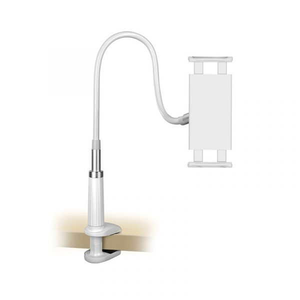 Universal Holder with Flexible Long Arm Silver 1.2M