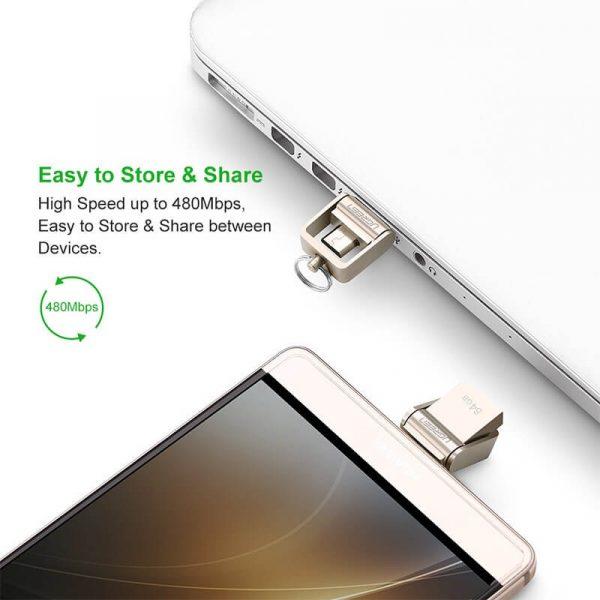 UGREEN USB 2.0 OTG Flash Drive-32GB