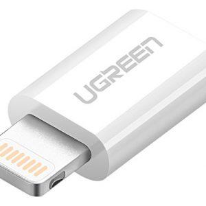 UGREEN Lightning to Micro USB Adapter (White)