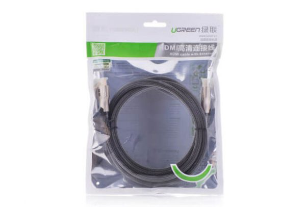UGREEN HDMI cable metal connector with nylon braid - 10M