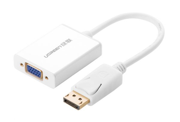 UGREEN Display Port to VGA+Audio converter cable