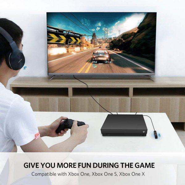 Bluetooth 4.2 Receiver Audio Adapter Black