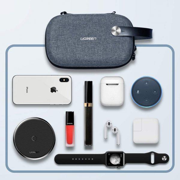 Ugreen Travel Storage Case Gray