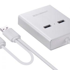 new USB 3.0 to VGA + 2 ports USB 3.0 + Gigabit lan port Silver 80CM