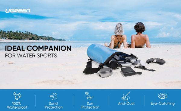 UGREEN Floating Waterproof Dry Bag Blue