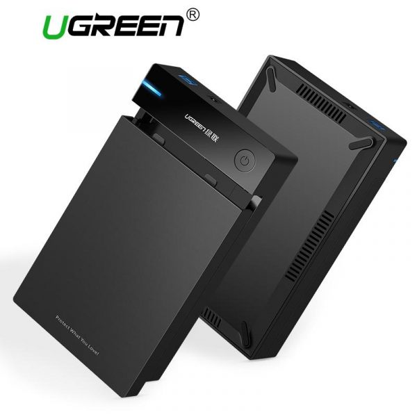 "UGREEN 3.5"" USB 3.0 Hard Drive Enclosure"