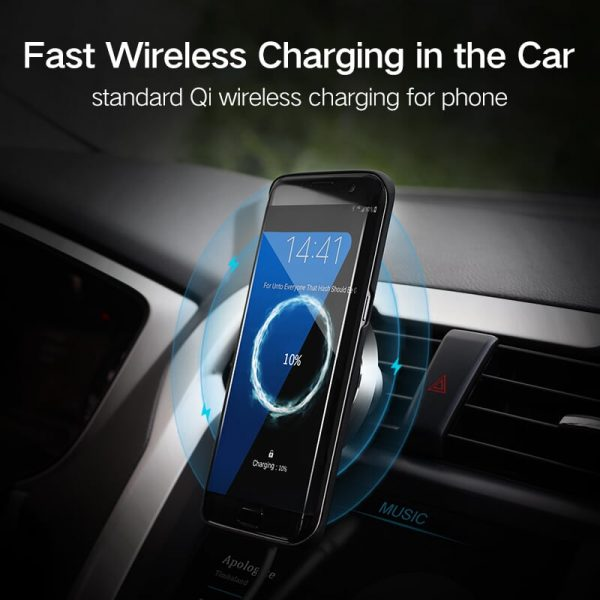 Ugreen Wireless Car Charger Black