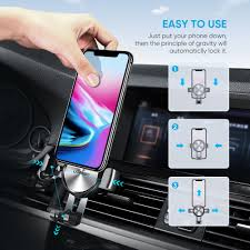 UGREEN Gravity Phone Holder with Suction Cup Black
