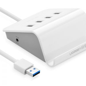 UGREEN 4 Ports USB 3.0 Hub with Phone Stand 1m