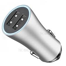 UGREEN 3 USB port Car Charger-Silver