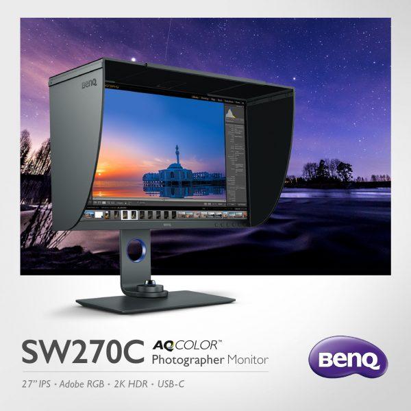 BenQ SW270C | 27 inch Photographer Monitor