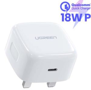 18W PD USB C Charger (UK Plug)