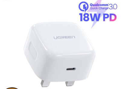 Ugreen 18W PD USB C Charger (UK Plug)