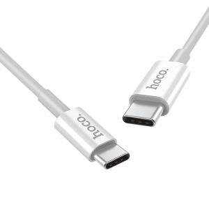 X23 Skilled Type C to Type C Charging Data Cable White