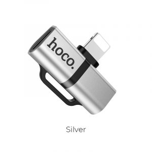 LS20 Apple Dual Lightning Digital Audio Converter Silver