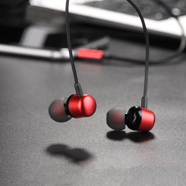 M31 Delighted Sound Universal Earphones with Mic Red
