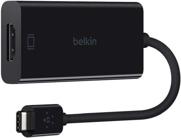 Belkin ADAPTER,USB-C,HDMI,4K,60HZ,BLACK