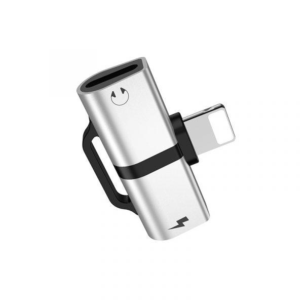 LS20 Apple Dual Lightning Digital Audio Converter Silver