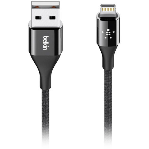 Belkin MIXIT↑™ DuraTek™ Lightning to USB Cable-4ft/1.2m-Black