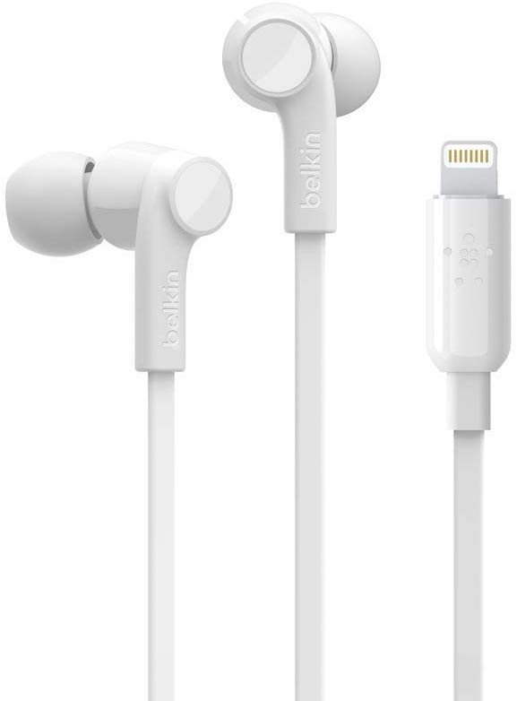 Belkin LTG,IN-EAR HEADPHONES,BETTER,WHITE