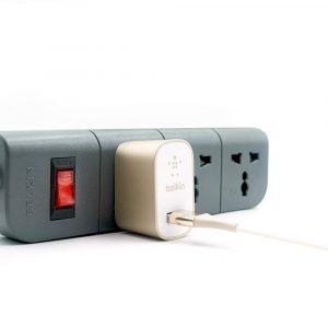 Belkin Essential Series 3-Socket Surge Protector
