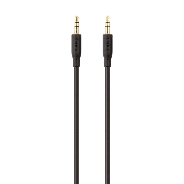 Belkin F3Y117BT2M audio cable 2 m 3.5mm Black