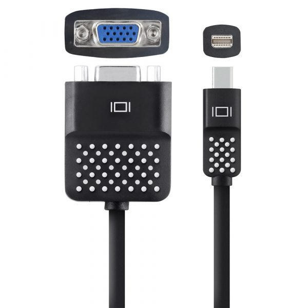 Belkin Mini Displayport to VGA Adapter (F2CD028bt),Black