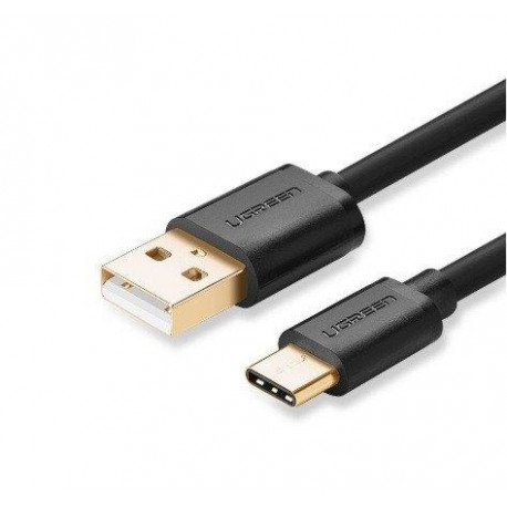 UGREEN USB 2.0 Male to USB-C 3.1 Male Cable 1M Black