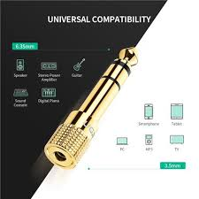 UGREEN 6.5mm Male to 3.5mm Female Adapter