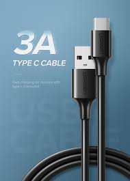 UGREEN USB 2.0 to USB-C data cable Black – 1M