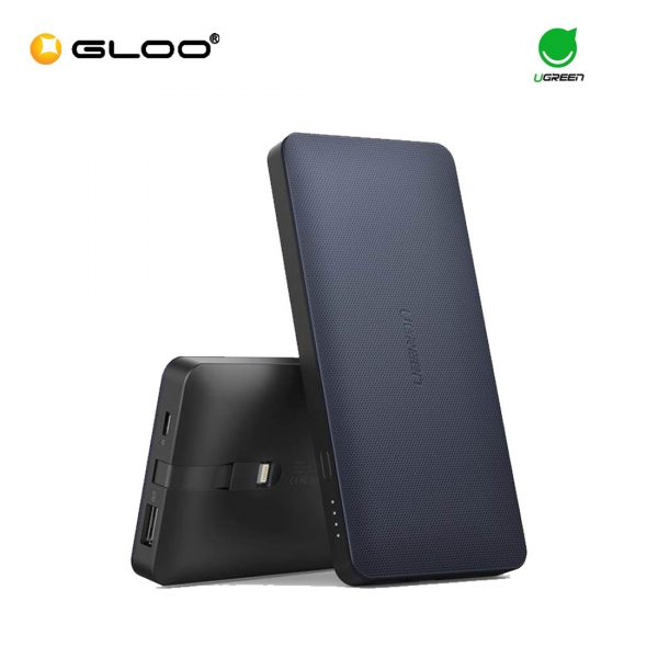 Ugreen Portable 10000mAh Power Bank with Lightning Cable