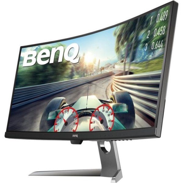 BenQ EX3501R 35 Inch Curved Gaming Monitor for Sim Racing, 2K Ultrawide