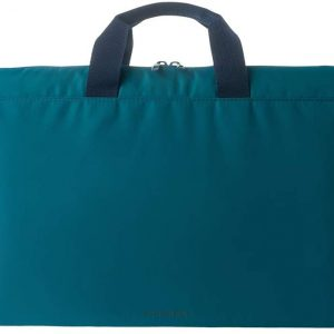 Tucano BFML1516-B Minilux Padded Laptop/Shoulder Bag for 13/14 Inch Laptop/Tablet/Netbook/Teal Blue