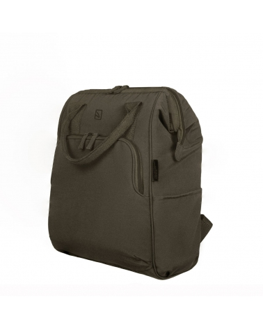 Tucano Ampio ECO Comfortable Laptop Notebook Backpack Suitable for Laptops up to 14 Inches/Milgreen