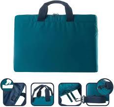 Tucano BFML1516-B Minilux Padded Laptop/Shoulder Bag for 13/14 Inch Laptop/Tablet/Netbook/Teal Blue